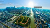 航拍杭州未来科技城
