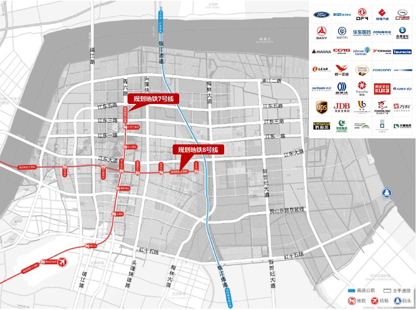 大江东地铁规划及部门入驻产业一览-100 自持宅地首现大江东 本土房