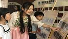 龙湾区档案局送档案记忆文化进学校