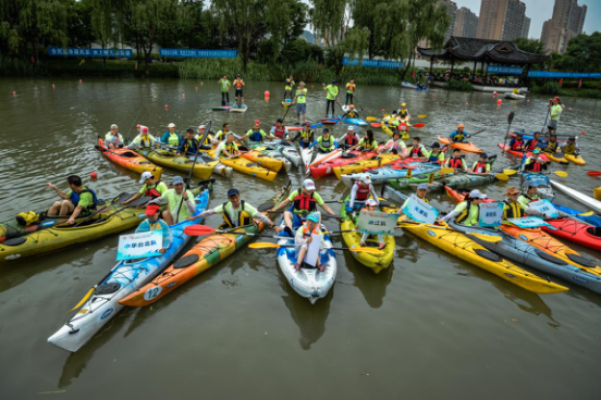2017年中国皮划艇巡回赛(拱墅站)开赛