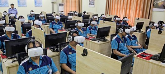 戴上眼镜可以戒毒 杭州一戒毒所用上VR高科技