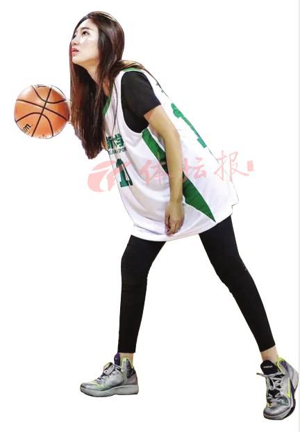"""杭州这个""""篮球女神""""可不是花架子-浙江体育在线"""