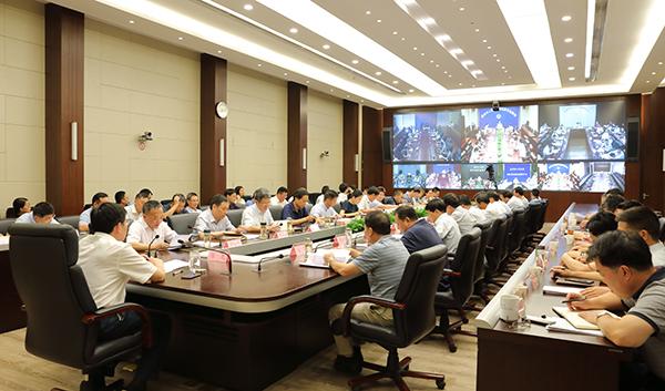 省厅召开全省水利系统视频会议