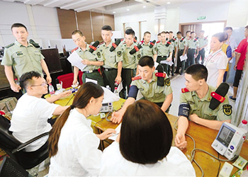 杭州古墩路商铺爆燃事故:爱心献血大接力