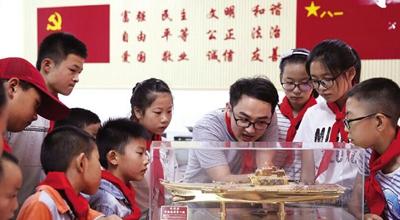 德清企业打造爱国主义教育基地