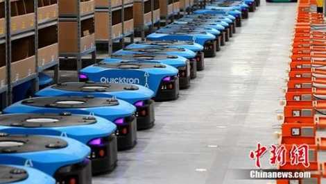 炫酷! 机器人在仓库里这样分拣你的网购包裹