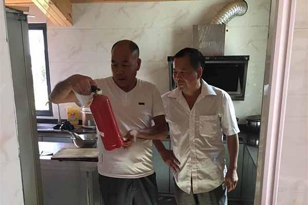 """农家乐消防安全也要""""体检"""" 护航夏季旅游"""