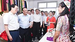 车俊率省代表团赴新疆阿克苏考察