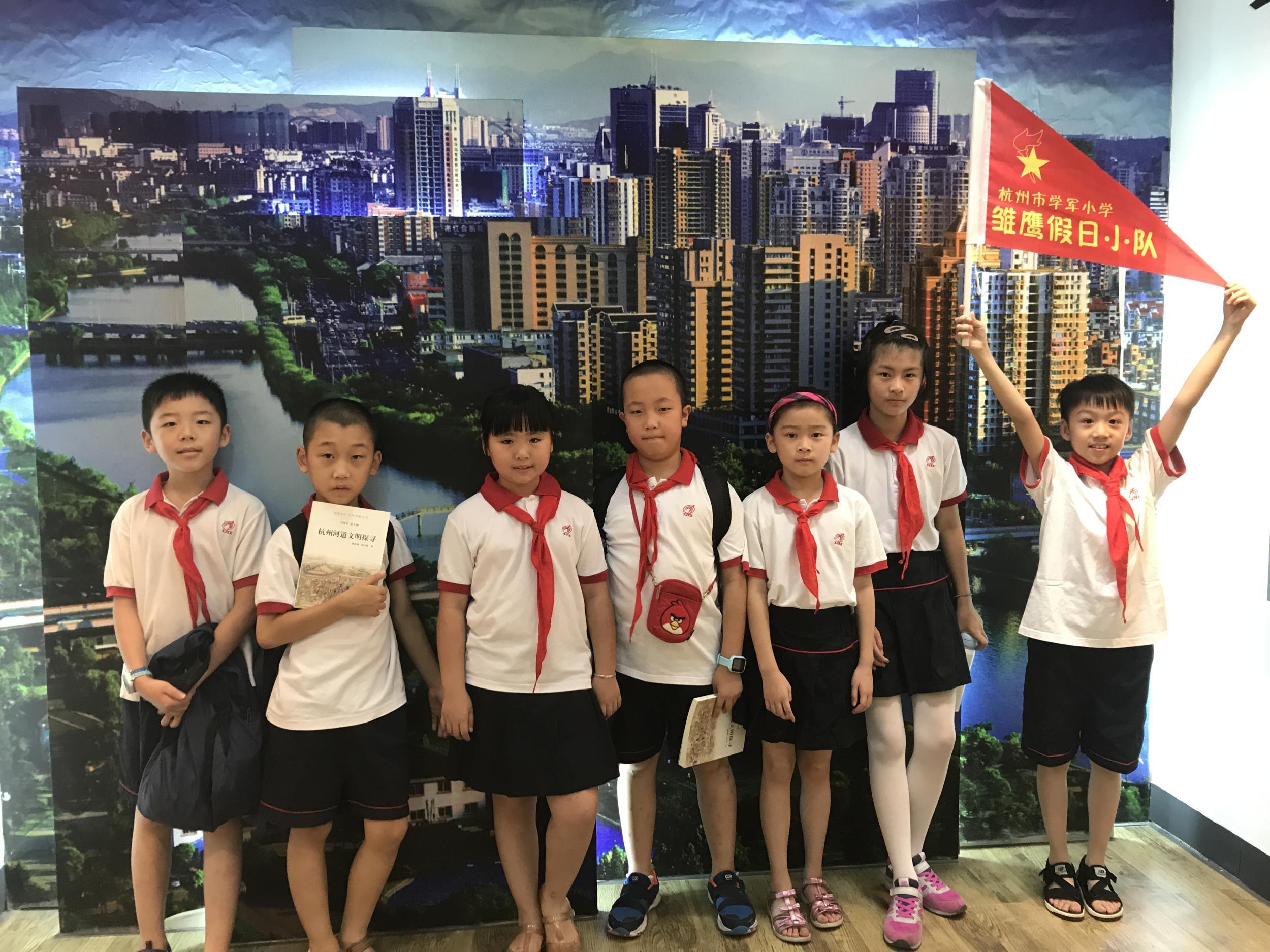 杭州美丽的河道由我们守护