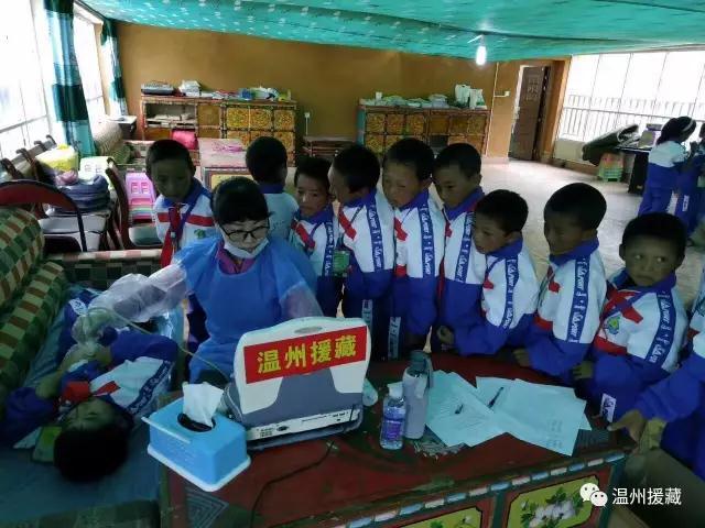 浙江温州、台州援藏医生开展包虫病筛查工作