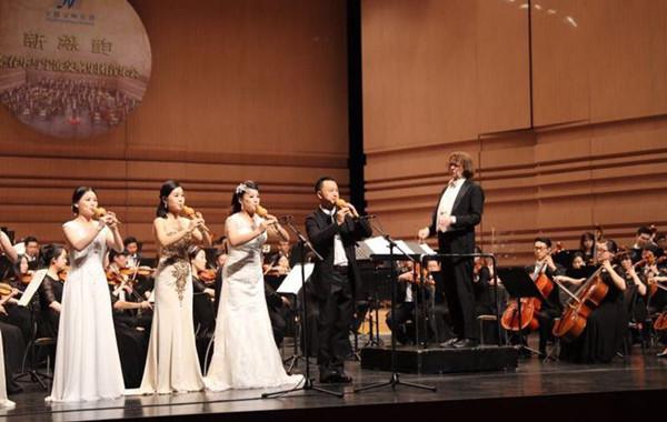 李春华葫芦丝交响音乐会在宁波音乐港柔美响起