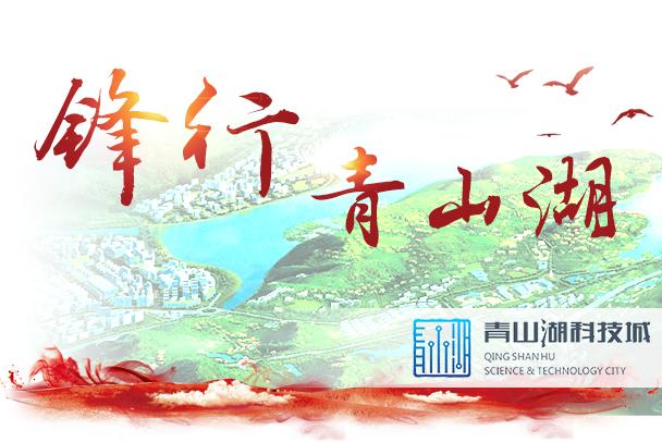 青山湖科技城:党建引领产业发展