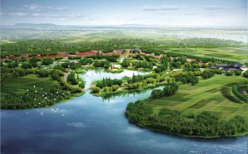 水清地绿景宜人 嘉兴藏身湿地公园的再生水厂将