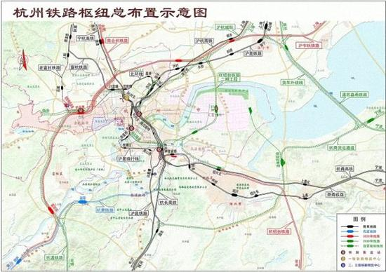杭州火车西站建设方案昨起征集:以站城融合为总目标