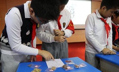 龙湾传播传统文化 国粹中医走进学校少年宫