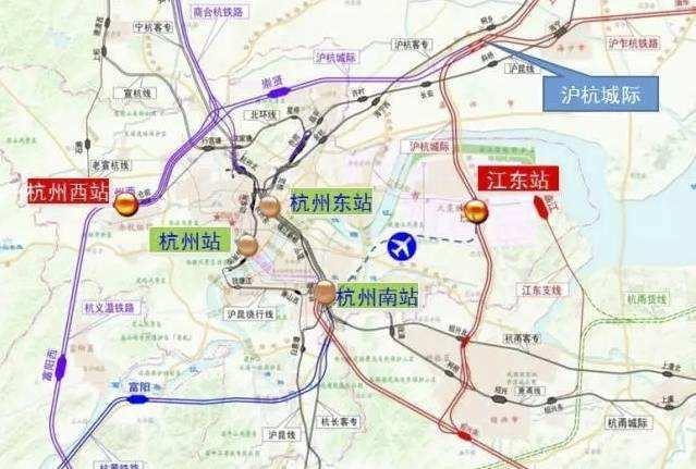 杭州西站最新消息 位置基本明确 就在老仓前站北侧