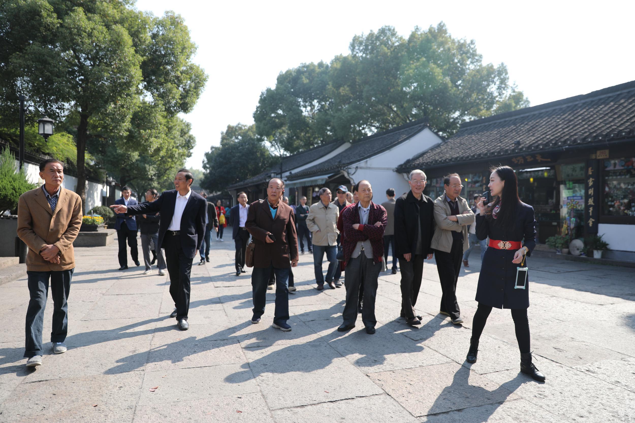 义乌举办市级老领导读书会举行