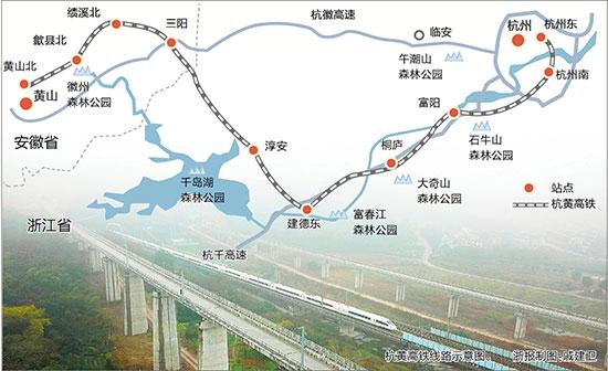 杭黄高铁主体工程全线贯通