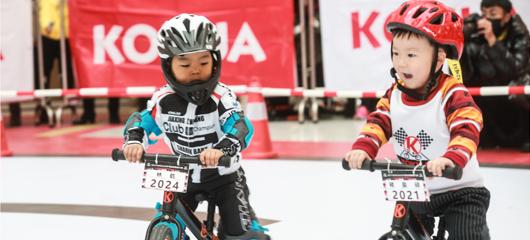 平均年龄最小的体育比赛 杭州平衡车小骑士萌翻天