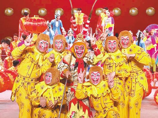 耍出武戏精华 唱出戏文演变 绍兴两个剧种亮相国家舞台
