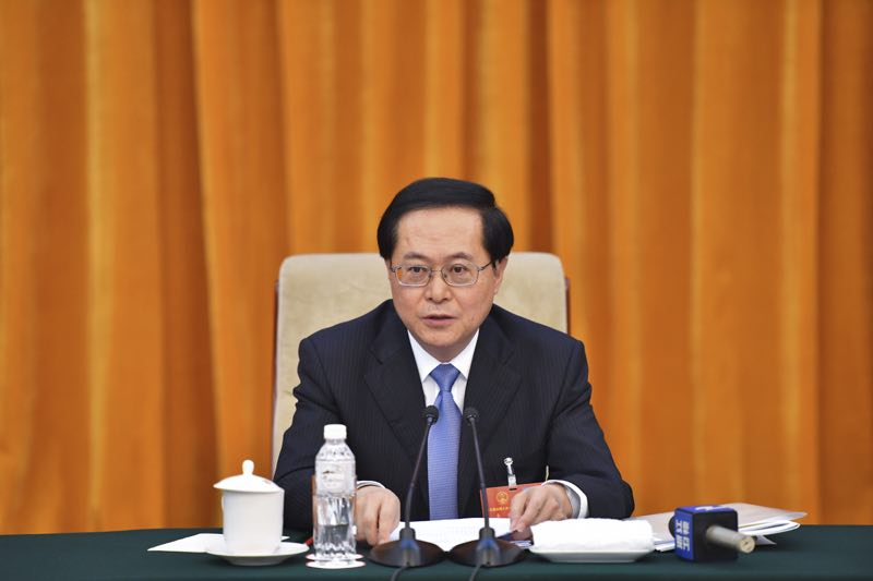 浙江代表团审议全国人大常委会工作报告 车俊袁家军参加
