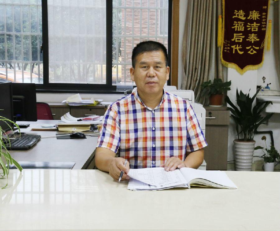 记湖州市安吉县递铺街道鲁家村党支部书记朱仁斌