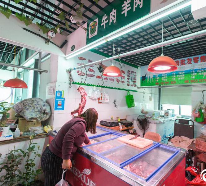 """老板娘生了二胎 杭州一菜场牛肉摊成""""无人售卖"""" 半月没少钱"""