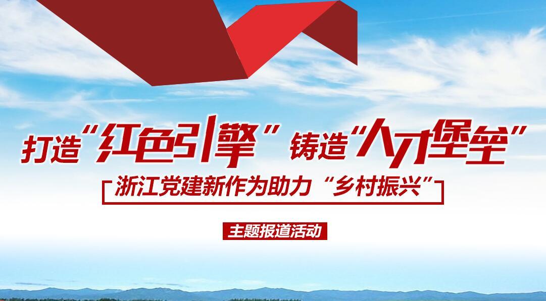 浙江党建新作为助力乡村振兴