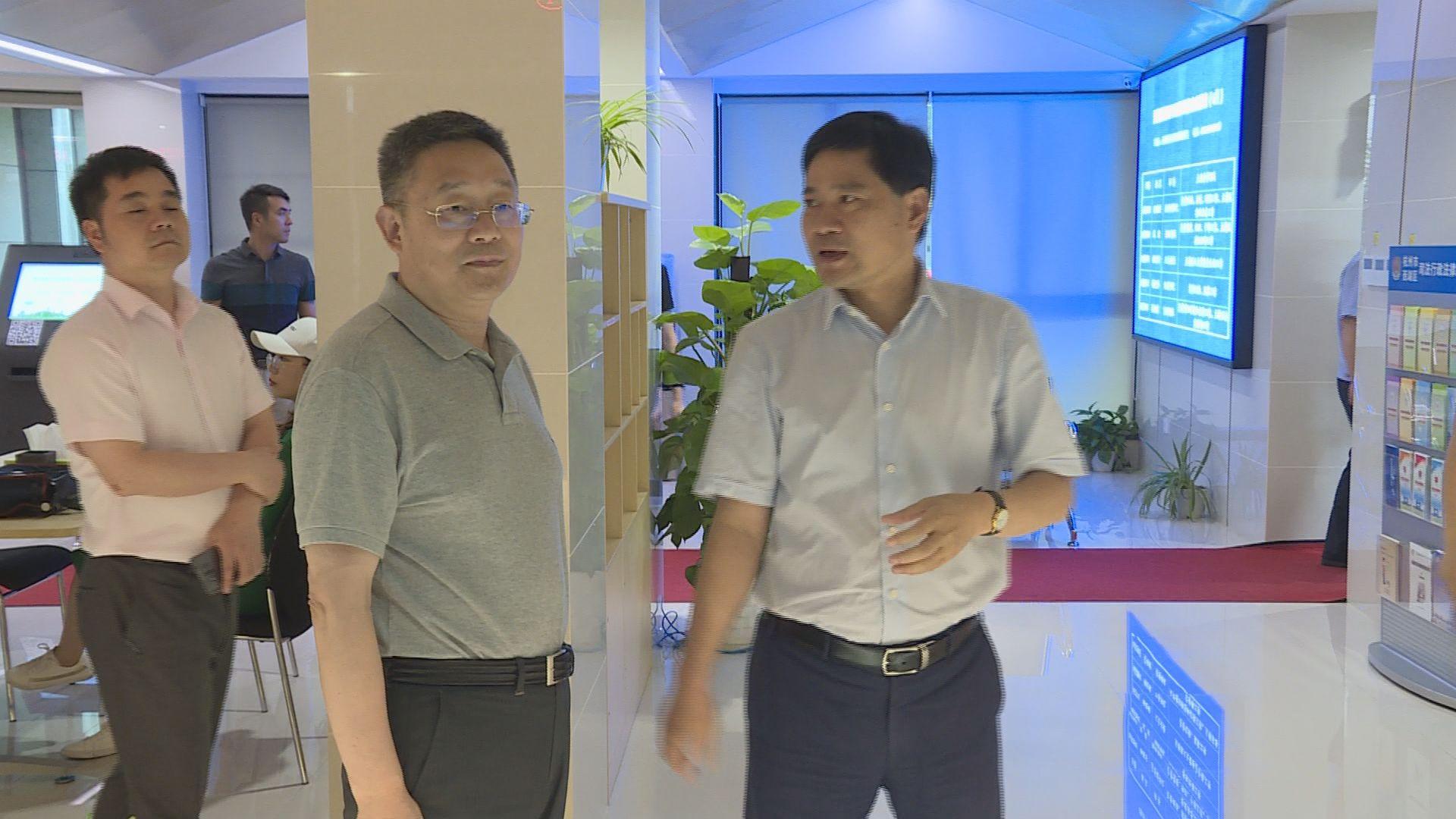 20180626(视频)李皋调研指导西湖区信访工作