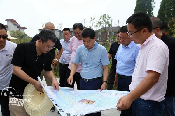 20180731(视频)西湖区委书记章根明在调研双浦镇有关工作时强调