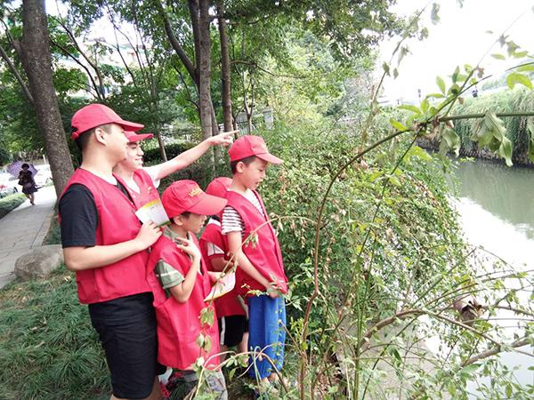 助力五水共治 古南青春力量在行动