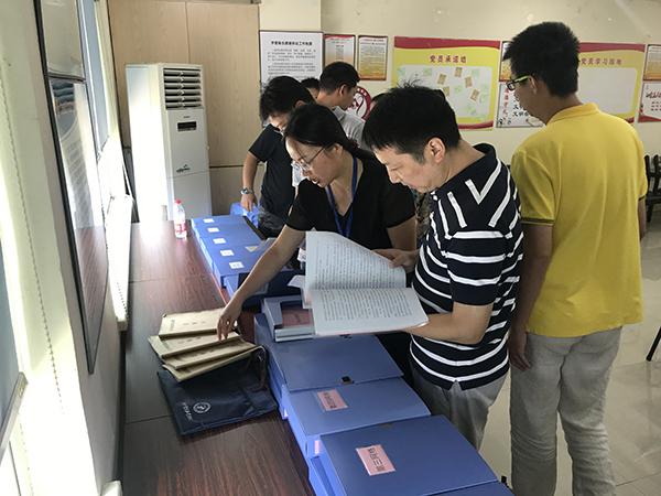区委办督查黄姑山社区全科网格建设规范提升情况