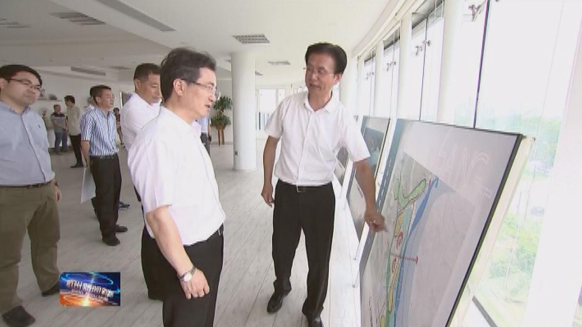 20180907(视频)周江勇调研西湖区三江汇流和之江区块发展情况