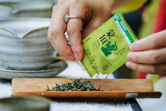 蒙顶山茶(雅安文旅集团 供图)