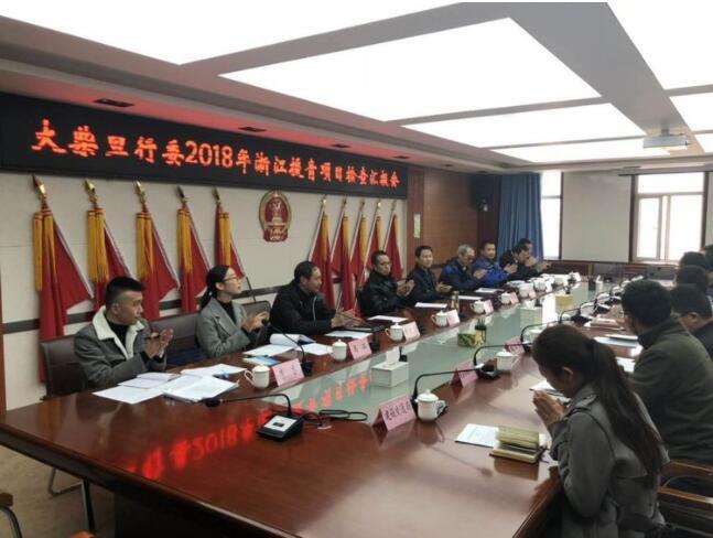 省援青指挥部开展年度援建项目全面检查