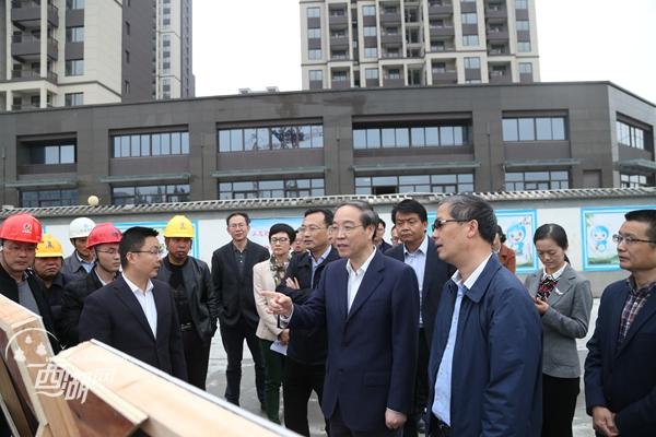 20181116(视频)周江勇来西湖区调研城市大脑建设工作时强调