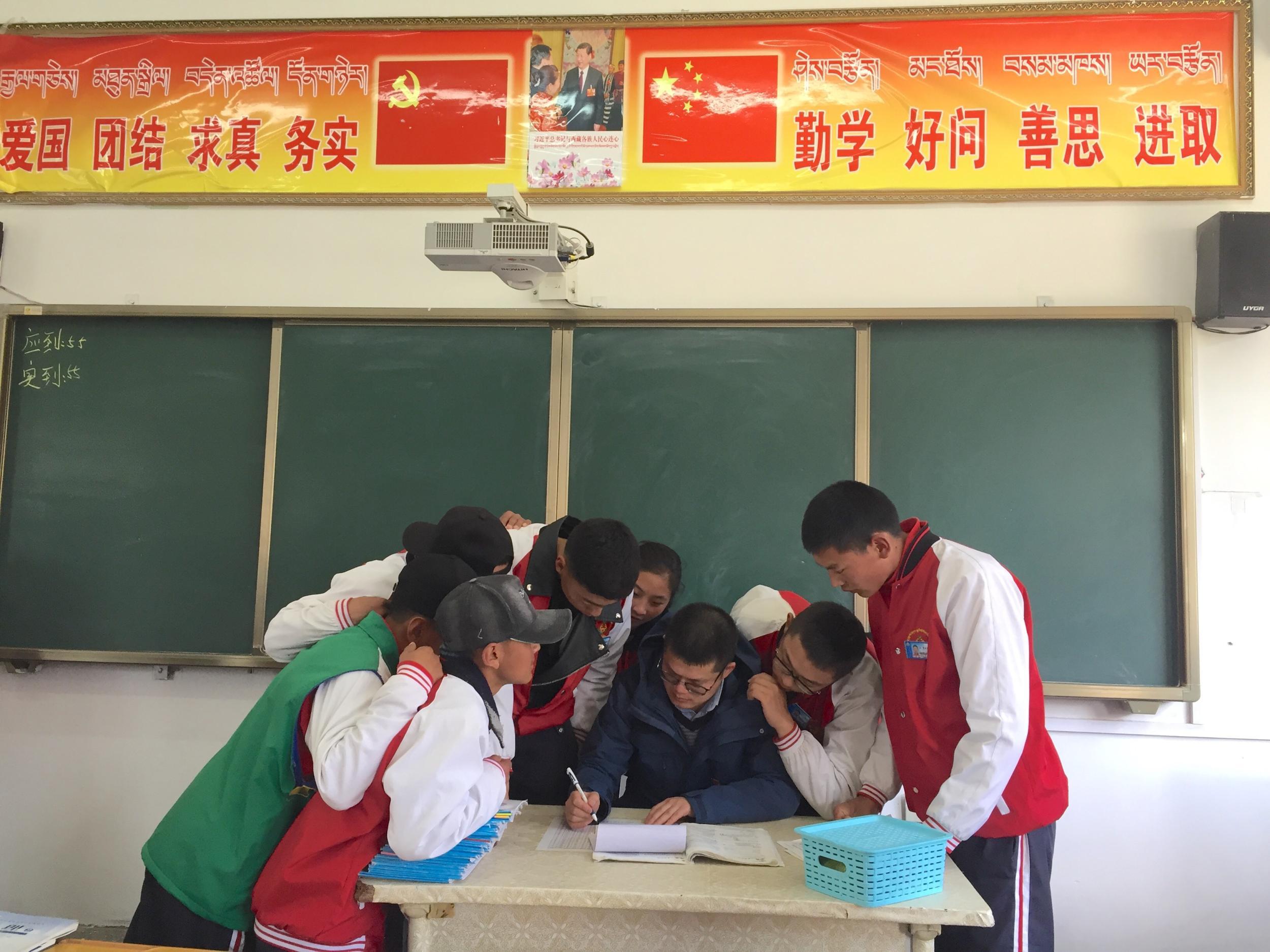 贺舟波:奉献西藏教育  展现浙江风采