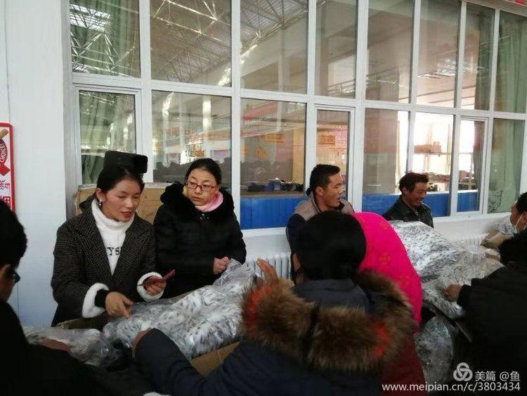 天峻开展浙江爱心企业冬季送温暖活动