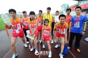 杭州残疾人田径游泳锦标赛开幕